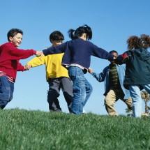 Активная детская игра — «Горячее место»