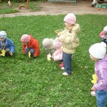 Подвижная детская игра — «Курочки»