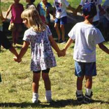 Детская игра — «Разрывные цепи»