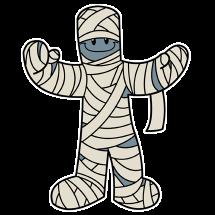 Игра-соревнования — «Мумия»