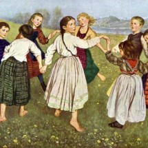 Детская игра — «Платок»