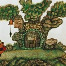 Веселая игра для малышей — «Пришел медведь к броду»