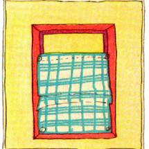 Детский фокус — Рамка и платок