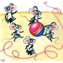 Детская игра — «Мыши водят хоровод»
