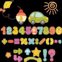 Детский математический фокус — Знакомые цифры