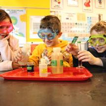 Химический детский фокус — Огонь-художник