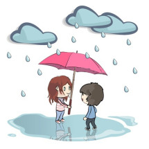 Детская игра — «Дождь идет»