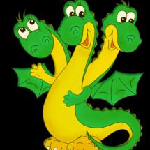 Детская игра — «Дракон»