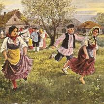 Детская игра — «Горелки»