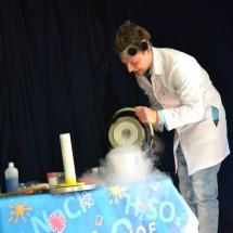 Химический детский фокус — Самовоспламеняющиеся свечи