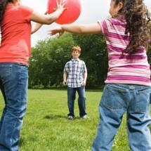 Детская игра — «Штандер-стоп»