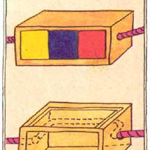 Детский фокус — Цветные кубики