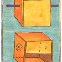 Детский фокус — Кольцо в коробке