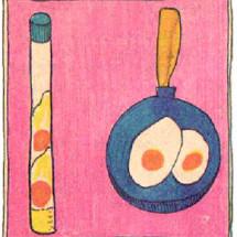 Детский фокус — Яичница из… ничего