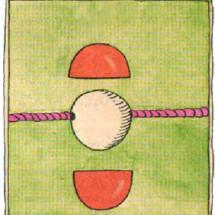 Детский фокус — Сначала красный, потом белый